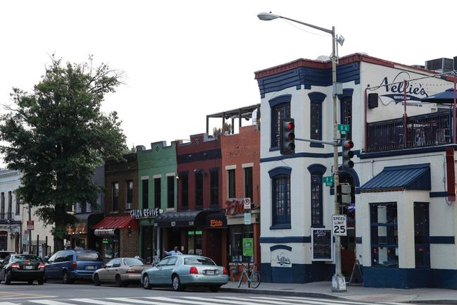 bars and shops in U Street