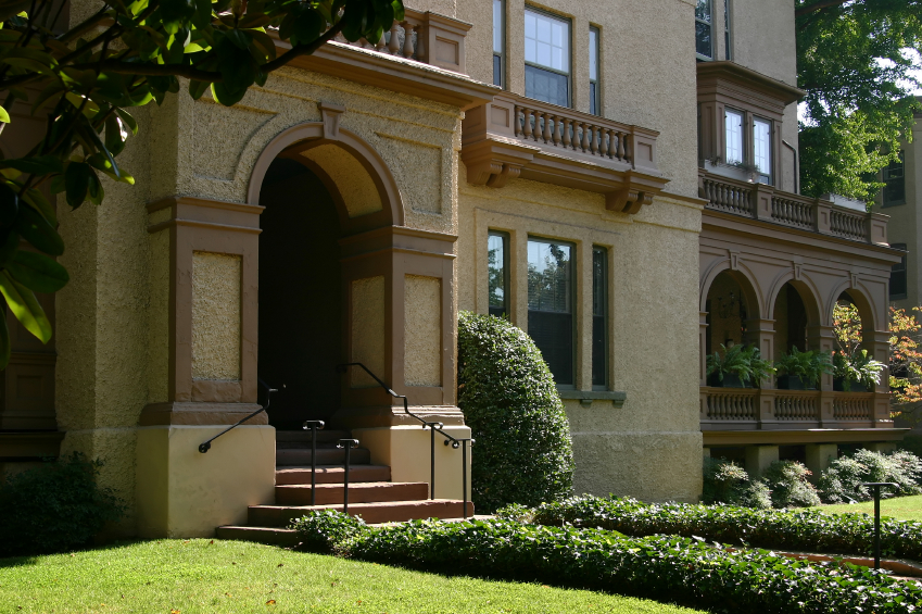 house in DC's Kalorama neighborhood